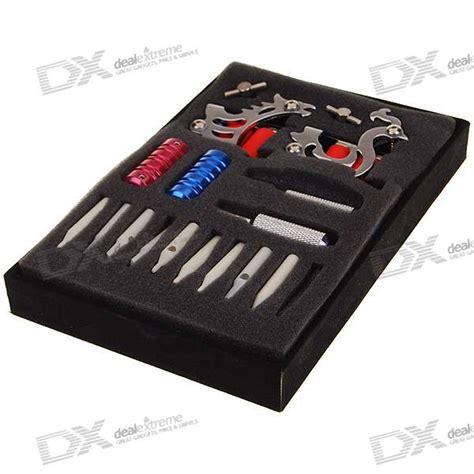 tattoo machine case professional 6 gun tattoo machine complete kit set with