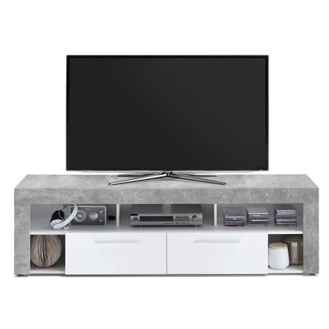 Meuble Tv Effet Beton 4236 meuble tele effet beton achat vente meuble tele effet
