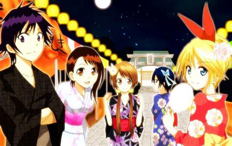 film anime nisekoi shaft to animate nisekoi romantic comedy anime capsule