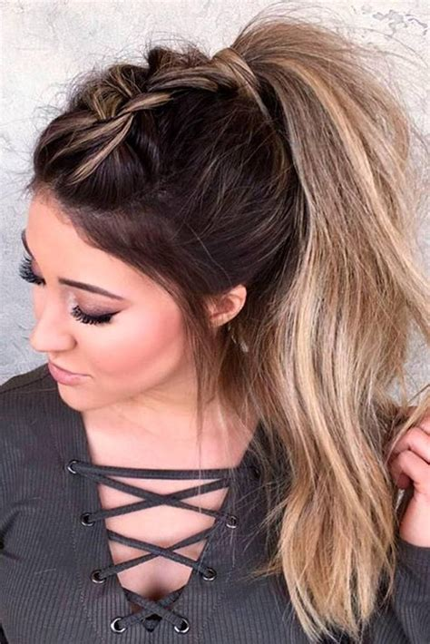 Easy Ponytail Hairstyles by 15 Best Of Hairstyles Ponytail