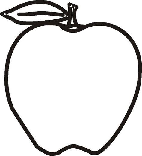 imagenes para colorear manzana manzanas para colorear imagui