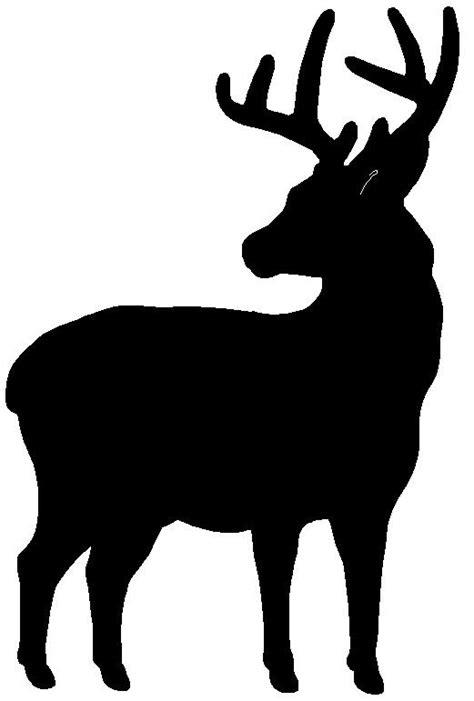 animal silhouette stencil reindeer silhouette stencil 13 best silhouettes images on pinterest silhouette deer