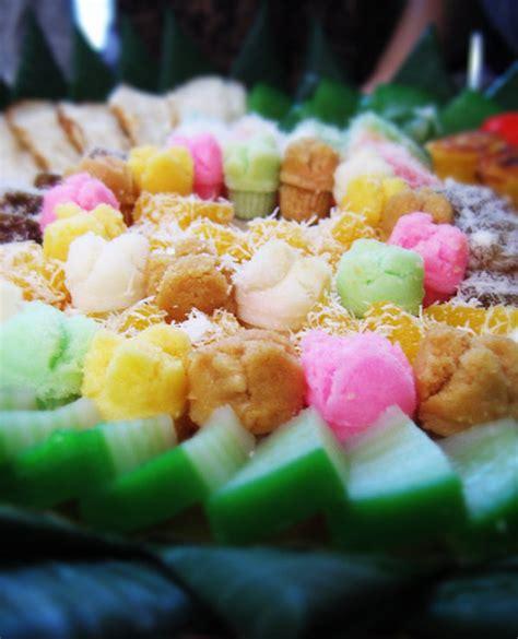 jajan pasar  assorted indonesian traditional snacks