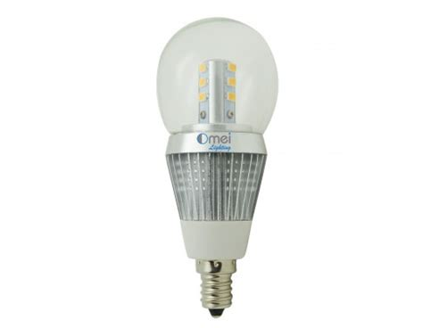 4000k Led Light Bulb Omailighting Chandelier Led Bulb E12 Candelabra Base Light Bulbs 5w Daylight White 4000k