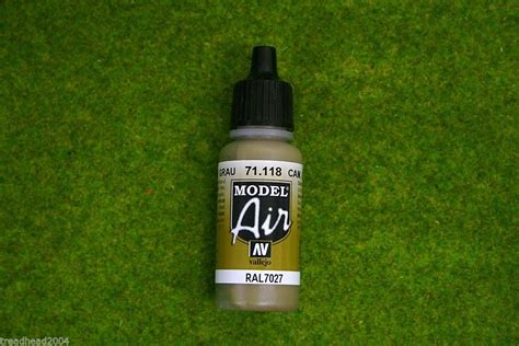 Vallejo 71054 Grey Blue Model Kit Paint vallejo model air