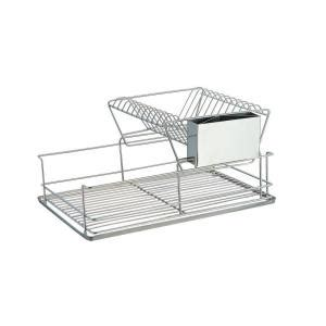 Home Basics 2 Tier Dish Rack by Home Basics Stainless Steel 2 Tier Dish Rack Dr30245 The