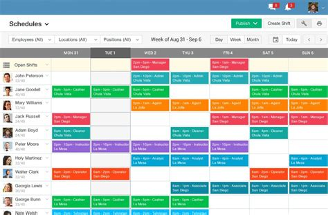 schedule builder schedule builder and time clock ximble