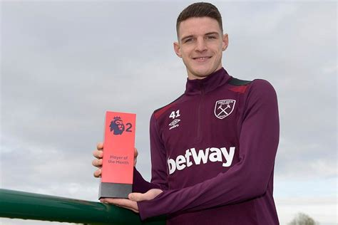 epl player of the month october 2017 rice named october pl2 player of the month