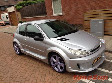 Modified Peugeot 206 For Sale For Sale Modified Peugeot 206 With Wide Bodykit Http
