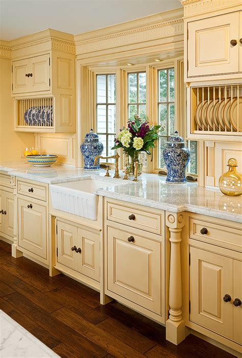 yellow painted kitchen cabinets interior styles and design yellow rooms happy and sunny