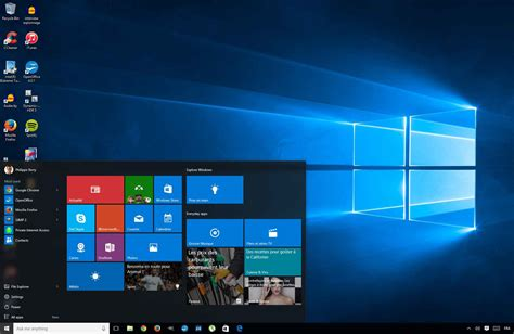 d駑arrer windows 8 sur le bureau installer la version finale de windows 10