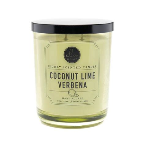 Fragrance Coconut Lime Verbana coconut lime verbena dw home scented candles dw4133 dw4140 dw4147