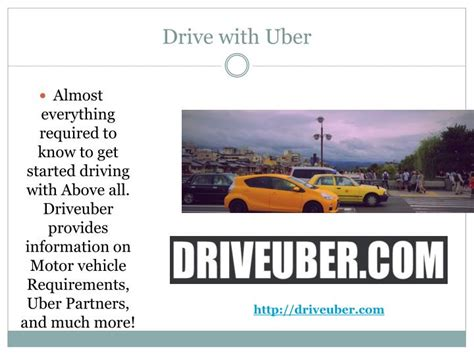 drive with uber ppt drive for uber powerpoint presentation id 7371197
