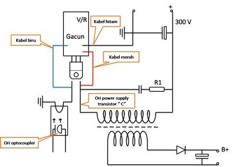 Gacun Str Atau Gacun 5 Kabel cara memasang 3 kabel modul power supply universal gacun pcb servis