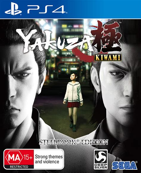 Kaset Ps4 Yakuza Kiwami Steelbook Edition yakuza kiwami steelbook edition playstation 4 the gamesmen