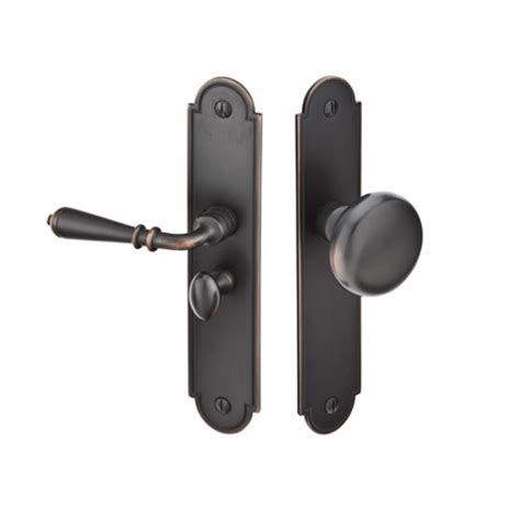 Screen Door Door Knobs by Emtek 2290 Arch Style Screen Door Lock Brass Or Bronze