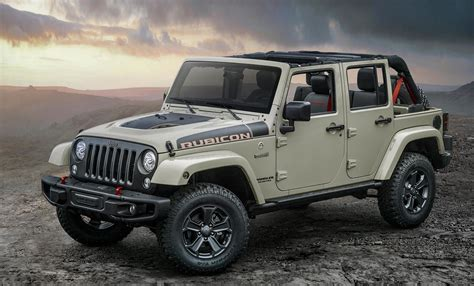 jeep rubicon offroad jeep wrangler rubicon recon more capable road
