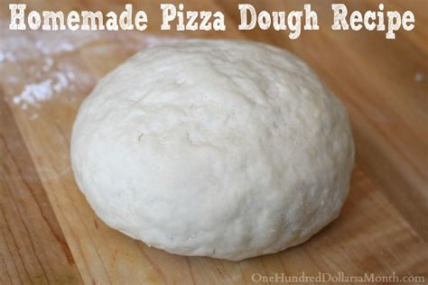 Handmade Pizza Dough Recipe - pizza dough recipe dishmaps