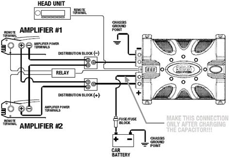 car audio speaker wiring diagram audio system cap20 in two lifier wiring diagram