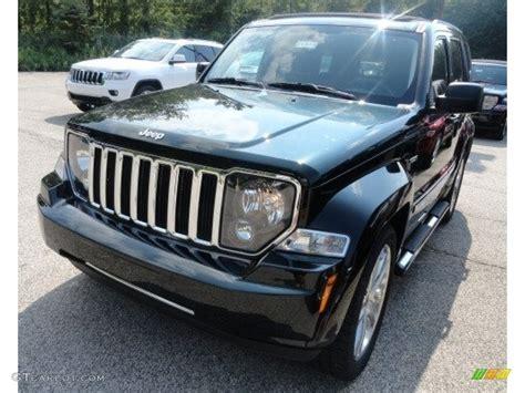 dark green jeep liberty 2012 black forest green pearl jeep liberty jet 4x4