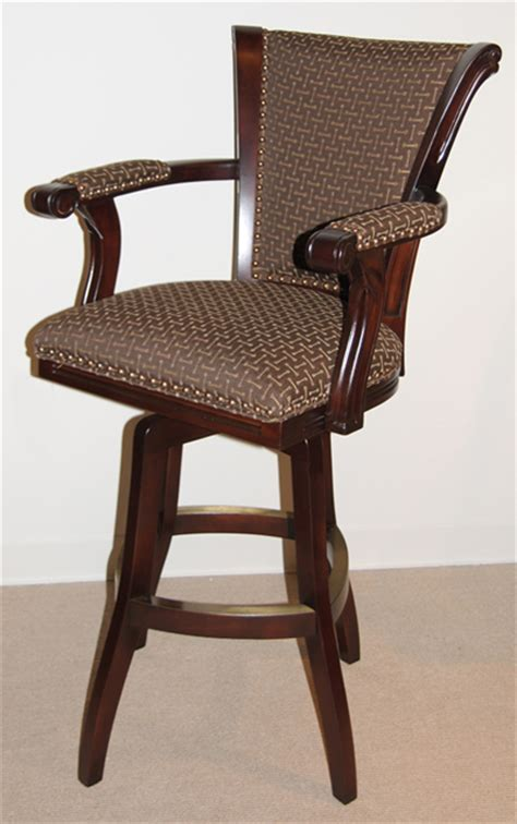 Padded Bar Stools With Backs And Arms by Eye Catching Beautiful Padded Bar Stools With Backs And