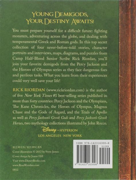 1423163001 the heroes of olympus the the demigod diaries the heroes of olympus hardcover