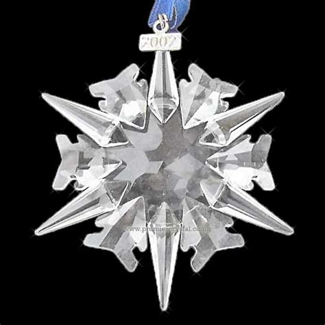 swarovski christmas ornament 2002 annual 288802