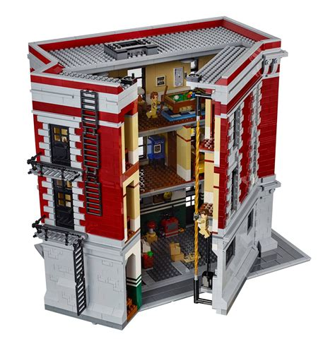 lego headquarters lego reveal their new ghostbusters hq with facebook page pictures metro news