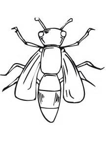 bugs colouring pages