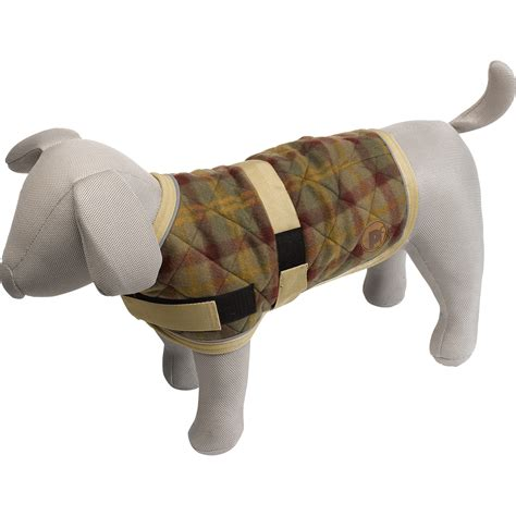 pattern for quilted dog coat fleece lined petface signature quilted check dog jacket