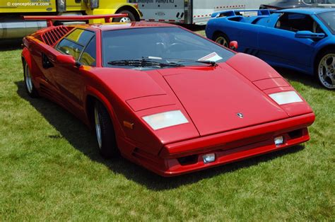 89 Lamborghini Countach 1989 Lamborghini Countach 25th Anniversary At The Le
