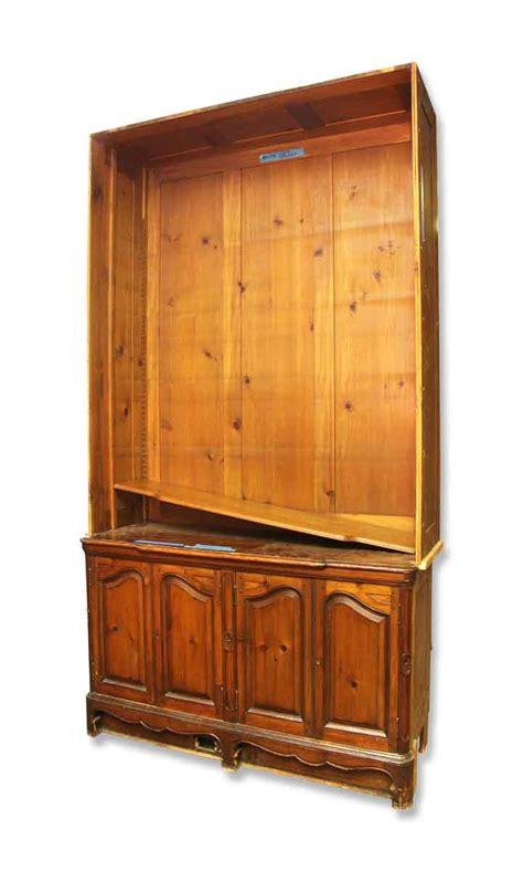 salvaged large hutch olde things