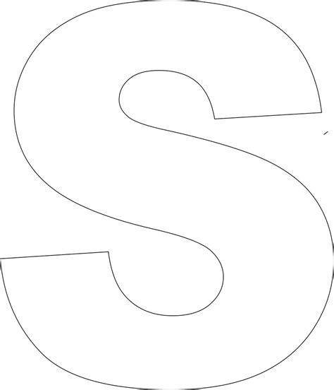 printable alphabet template upper case