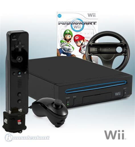 wii console versions wii console black mario kart incl mote plus