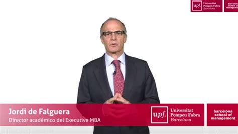 Executive Mba Universitat De Barcelona by 191 Por Qu 233 Un Mba Personalizado