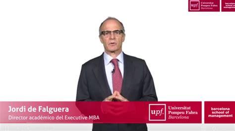 Executive Mba Universidad De Barcelona by 191 Por Qu 233 Un Mba Personalizado