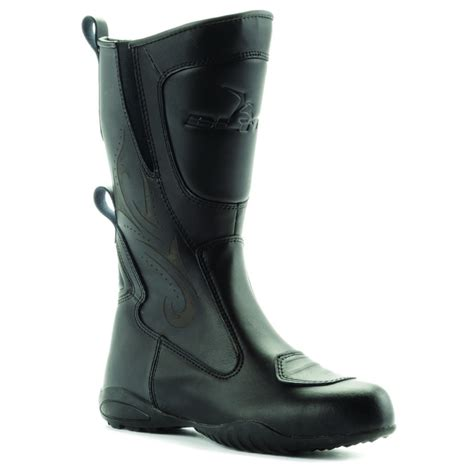 waterproof motorbike boots blytz waterproof leather motorbike womens