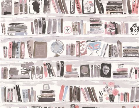 bela books books by kate spade blush wallpaper direct