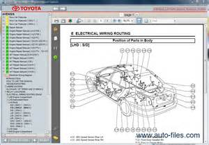 Toyota Parts Diagram Toyota Avensis Repair Manuals Wiring Diagram