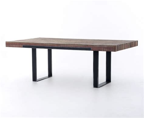 graham 84 quot dining table industrial home