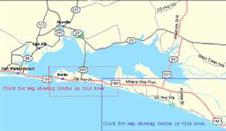 map to destin florida destin area maps