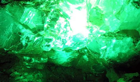 wallpaper crystal green green crystal by firefish8 on deviantart