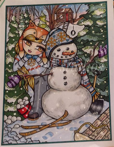 a whimsy girls christmas 168261493x 272 best hannah lynn magical girls of whimsy coloring page images on hannah lynn