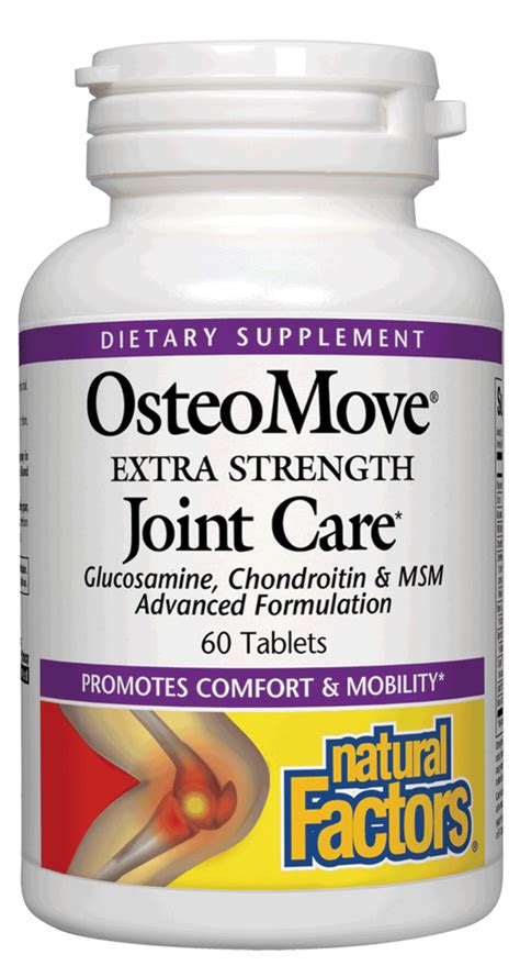Nature S Health Joint Health 60 Tabs osteomove joint care factors 60 tabs ebay