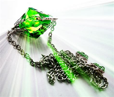 kryptonite necklace by kikimj on deviantart