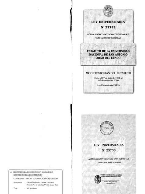 estatuto 2016pdf scribd estatuto universitario unsaac pdf