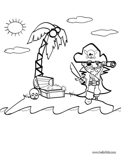 pirate coloring pages hellokids com