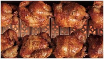 Pemanggang Ayam Gas jual pemanggang ayam gas rotisseries horizontal di