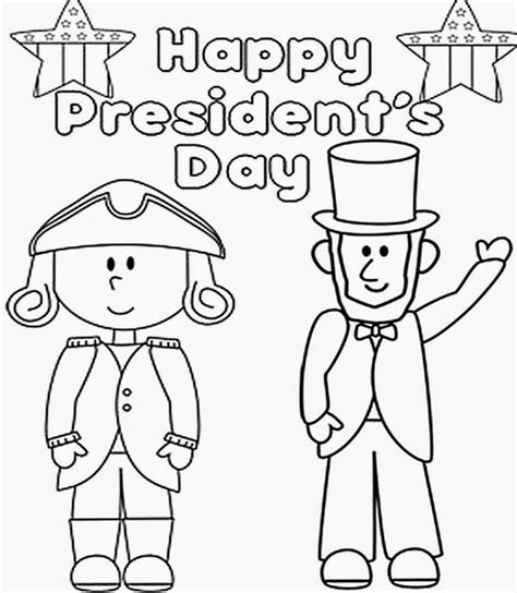 printable coloring pages us presidents president day coloring pages to print coloring home