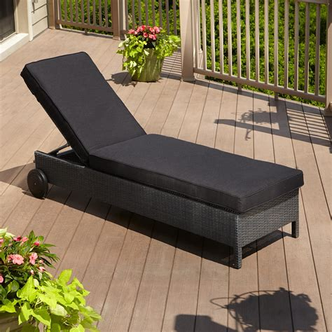Wicker Patio Lounge Chairs by Patio Chaise Lounge As The Must Furniture In Your